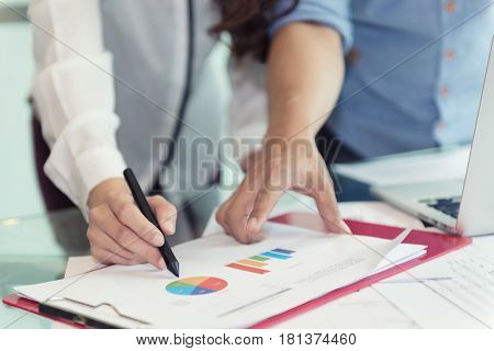 Discussing, Writing, Estimating Business Profit Plan Of Company