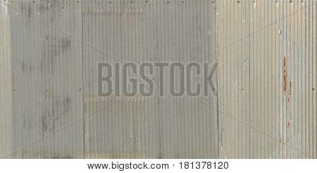 A Rusty Corrugated Iron Metal, Zinc Wall, Background