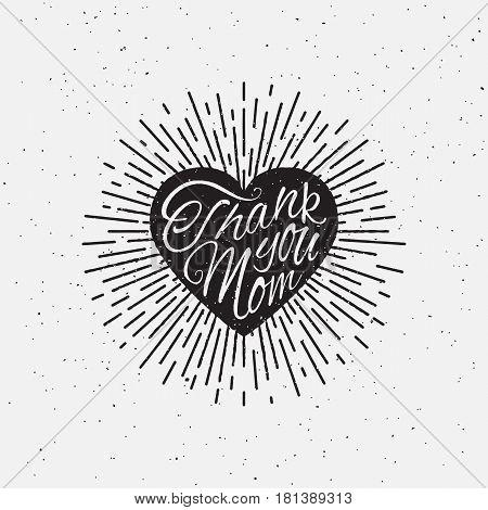 Sparkling Heart Lettering