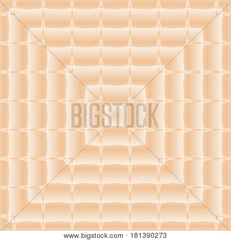 Square Seamless Pattern. Mosaic Decorative Design Template. Geometric Abstract Background. Light Pea