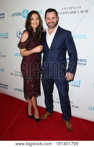 LOS ANGELES - APR 7:  Guest, Glenn Keogh at the 4th Annual unite4:humanity Gala at the Beverly Wilshire Hotel on April 7, 2017 in Beverly Hills, CA