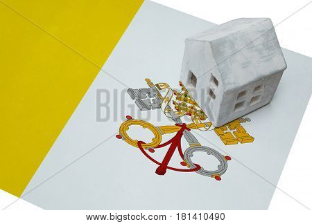 Small House On A Flag - Vatican City