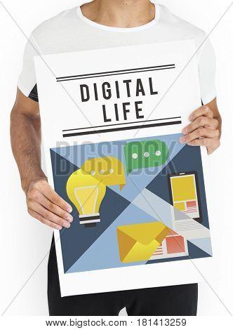 Internet networking digital life social media platform