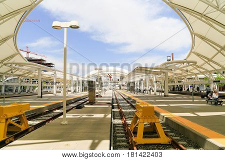 Open Air Train Hall At Denver Union Station