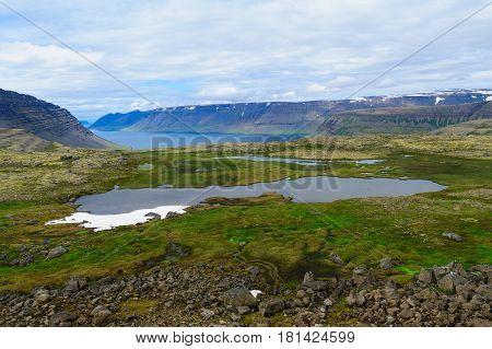 Landscape Of Dynjandisheidi