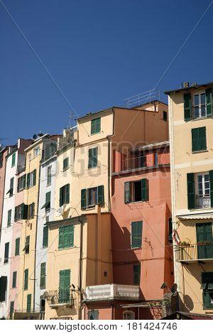 Architectural Details Of Portovenere