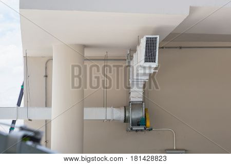 Supermarket Large Air Ventilation System, Restaurant Air Ventilation System, Air Duct, Kitchen Air F