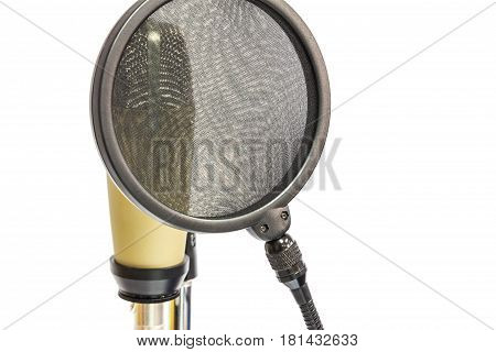 Professional Condenser Microphone With Pop Filter