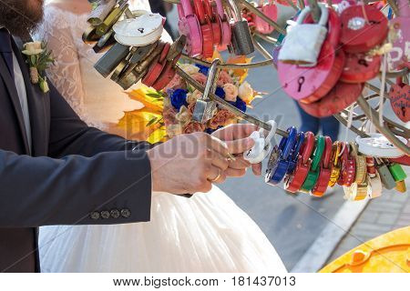 Wedding beautiful padlock traditionalLove Padlock Love and happiness