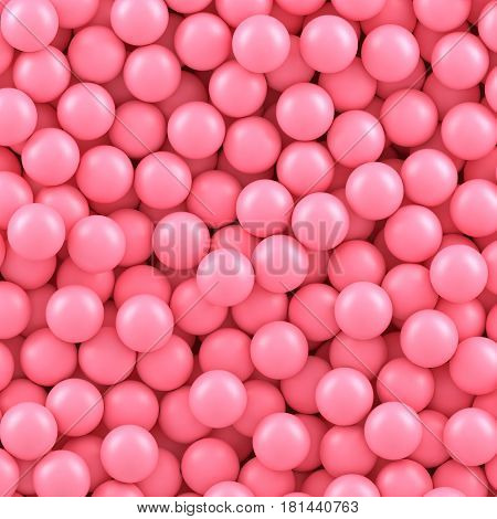 Pink candy balls background. Vector illustration Eps 10