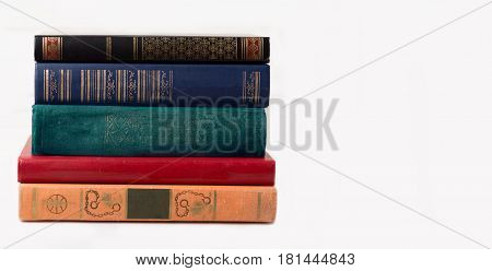 A book on white background. Isolated books. Knowledge