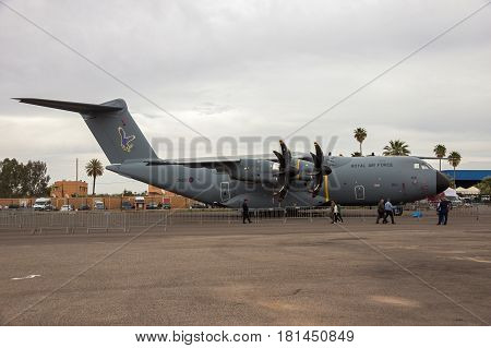 Oyal Air Force Airbus A400M Military Cargo Plane