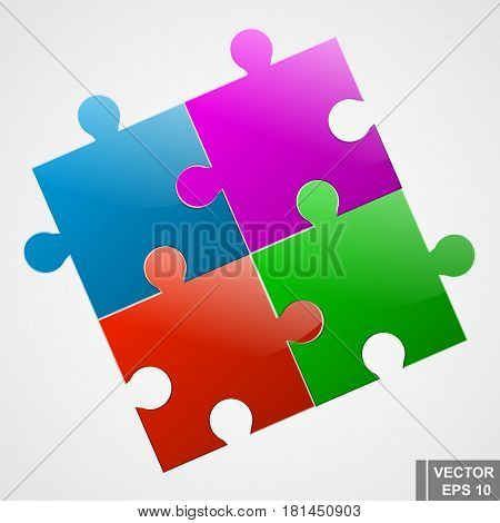 Puzzles. The Icon. Collect. Puzzle. For Your Design.