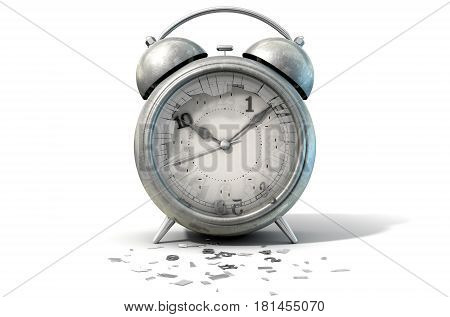 Table Clock Time Running Out
