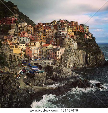 Beautiful place in Italy, Manarola Cinque terre