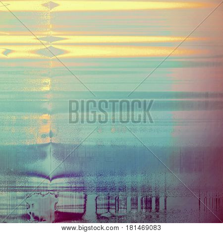 Elegant vintage background, antique texture. Designed grunge template with different color patterns: yellow (beige); gray; pink; blue; purple (violet); cyan