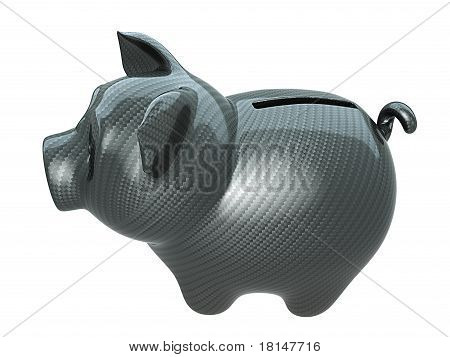 Carbon Fiber Piggy Bank: Confidence