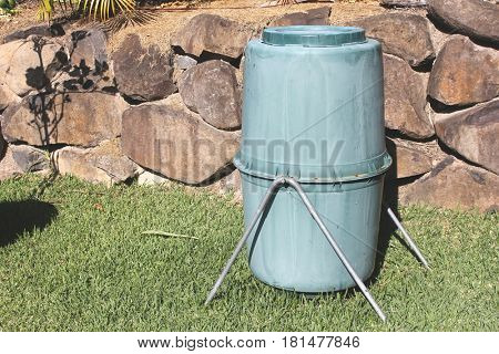 Old Backyard Compost Bin
