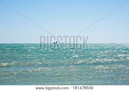 Ship Rock In Crimea, Russia