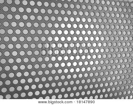 Carbon Fibre Surface With Holes