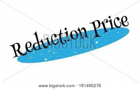 Reduction Price rubber stamp. Grunge design with dust scratches. Effects can be easily removed for a clean, crisp look. Color is easily changed.