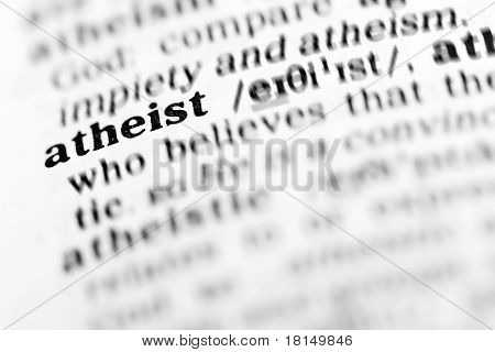 Atheist  (the Dictionary Project)