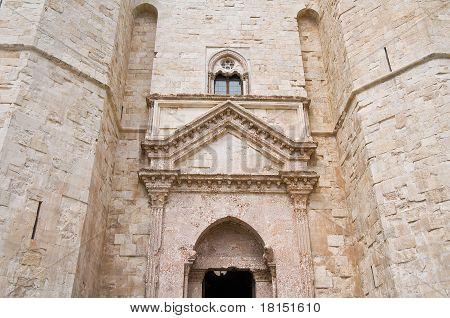 Detail of Castel del Monte.