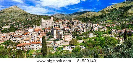 Itri - beautiful medieval village(borgo) in Lazio region, Italy