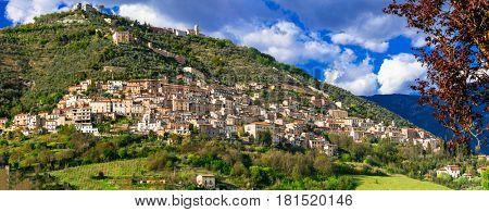 Alvito - beautiful medieval village in Frosinone province, Lazio