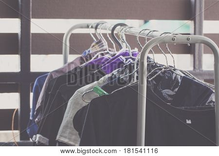 Washing Clothes Line Outside Hang to dry on a laundry line