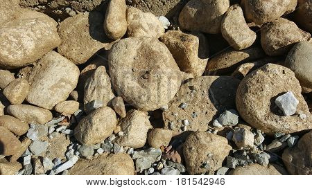 Rock Stone abstract texture. Rock stone background