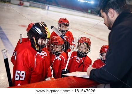Formation game plan tactics in hockey matches