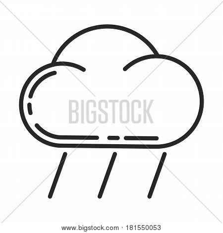 Downpour Vector Icon