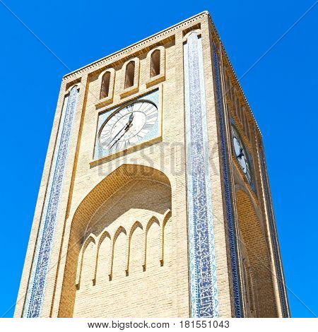 In Iran  Antique    Clock   Tower