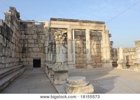 The biblical village of Capernaum