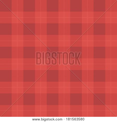 Red Cloth in a Cage. Vector Seamless Background Pattern.