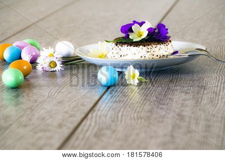 The panna cotta, delicacy to cheer Easter