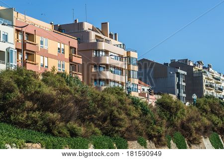 Houses on Colonel Raul Peres Street in Porto Portugal