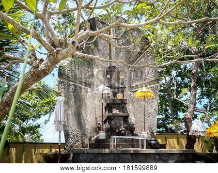 Hindu Altar in Garuda Wisnu Kencana GWK Bali Indonesia