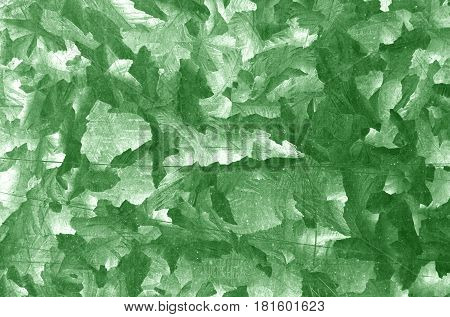 Green Color Metal Plate Pattern.