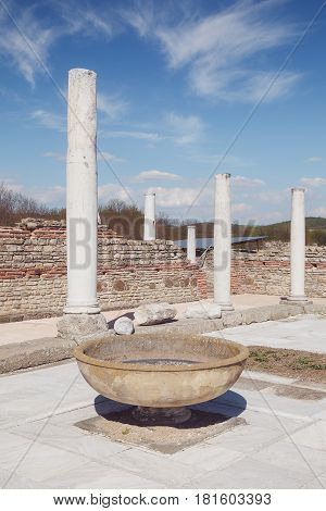 Felix Romuliana, ancient Roman emperor Galerius palace, Zajecar, Serbia,  UNESCO World Heritage Site poster