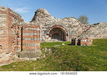 Felix Romuliana, ancient Roman emperor Galerius palace, Zajecar, Serbia,  UNESCO World Heritage Site