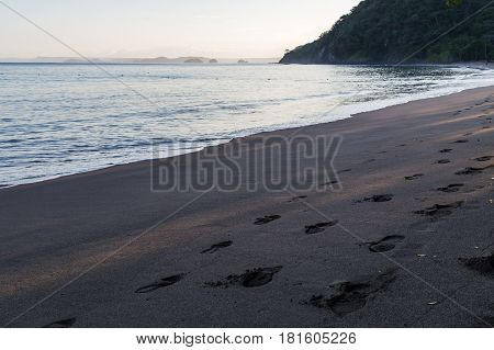 Sunrise on Playa Matapalo in the Guanacaste province of Costa Rica.