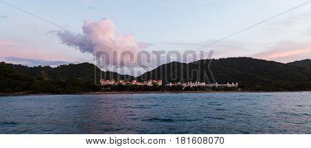 Playa Matapalo Panorama