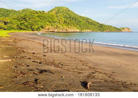 Deserted Playa Matapalo