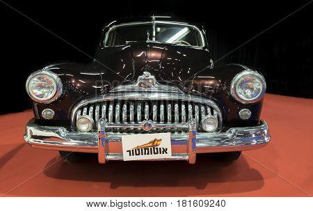 Buick Super (1940)  Car Displayed In Tel-aviv. Israel