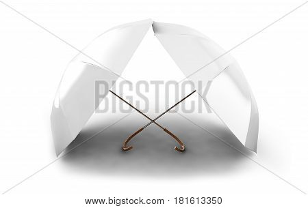 3d umbrellas isolated on white background Grey, Together, Togetherness, Variation, Many, Unity, Conformity, 3d, render