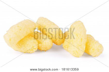 Corn sticks isolated on white background Cereal, Puff, Dietary, Pile, Sticks, Flakes, Supplement, Crunchy, Nutritional, Puffed, Puffs