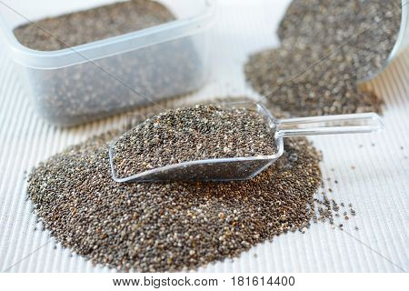 Organic Dry Black and White Chia Seeds