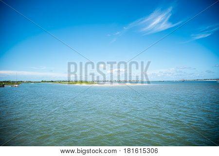 St. Augustine Landscape over Atlantic Ocean in Florida